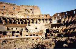 The Gorn at the Colloseum in Rome