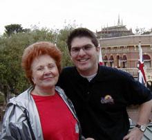 Granny and Josh on the Mark Twain