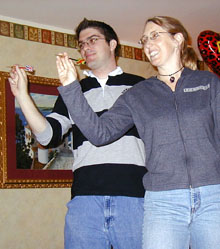 Josh and Susie - AV Day 2003