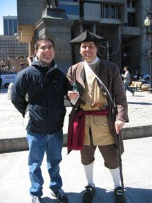 Josh and the Gorn in Boston