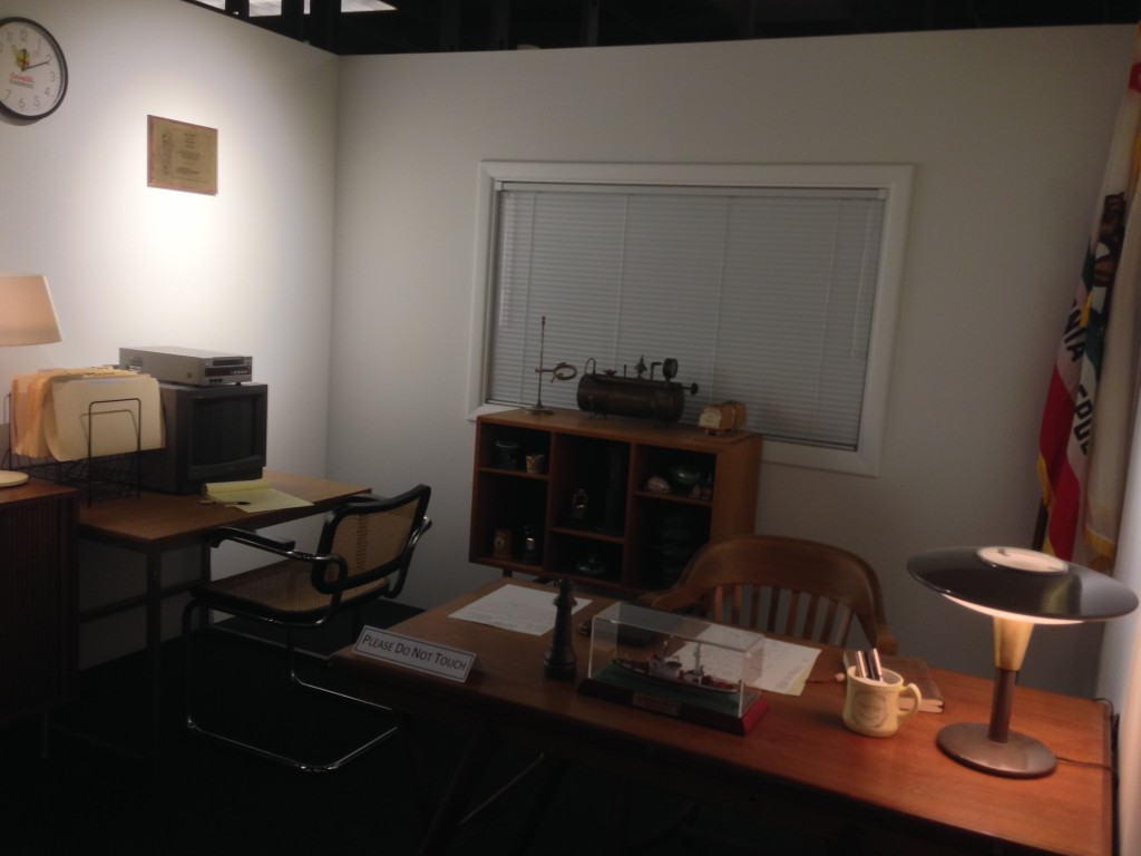 The recreation of Huell's office