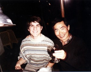 Josh and George Takei