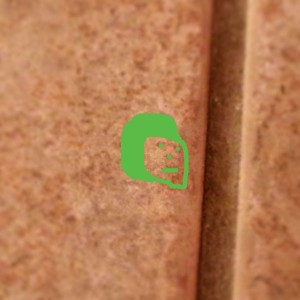 Face highlighted in Green