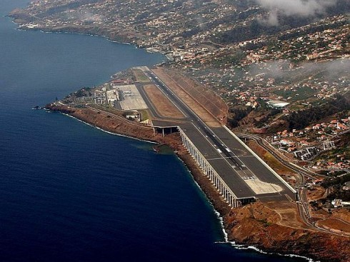 Funchal Airport (FNC), Madeira, Portugal