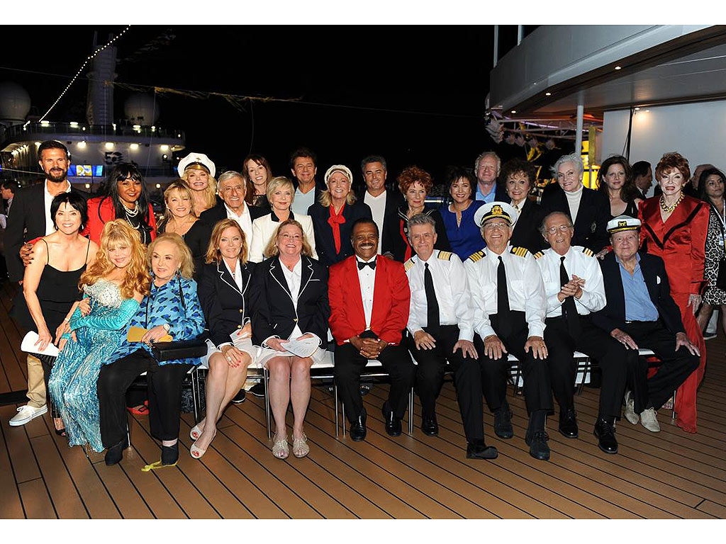 The Cast of the Love Boat and some of their Guest Stars